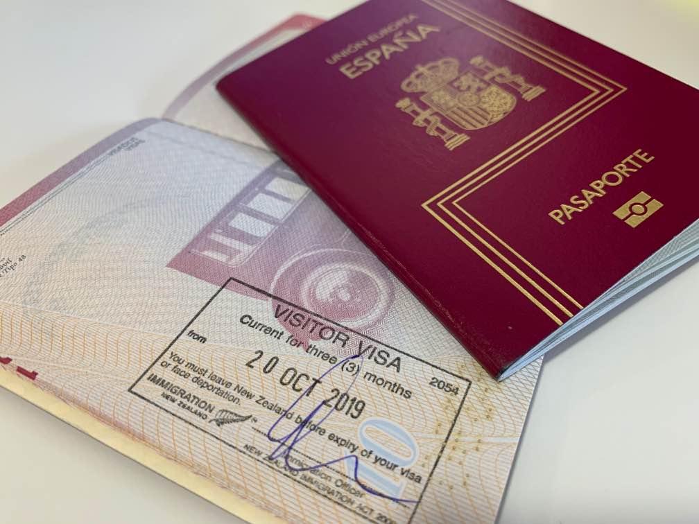 Organizar un viaje a Nueva Zelanda: Pasaporte - visado para Nueva Zelanda - cuánto cuesta un viaje a Nueva Zelanda