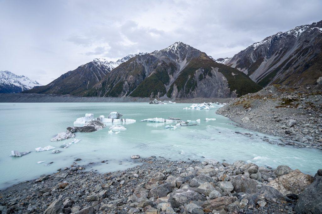 Ruta por Nueva Zelanda: lago Tasman