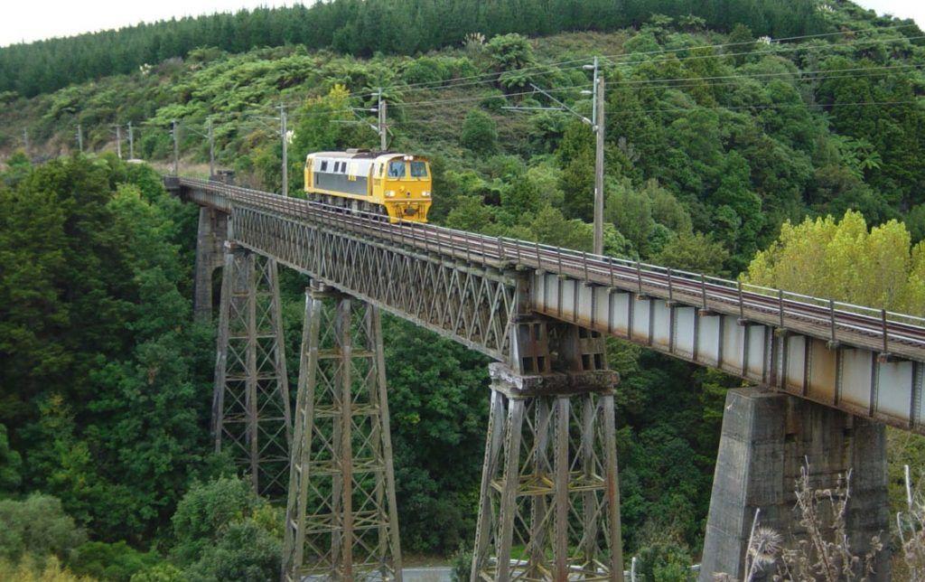 Etapa 2 por NZ entre Hamilton y Taumarunui: Waiteti Bridge