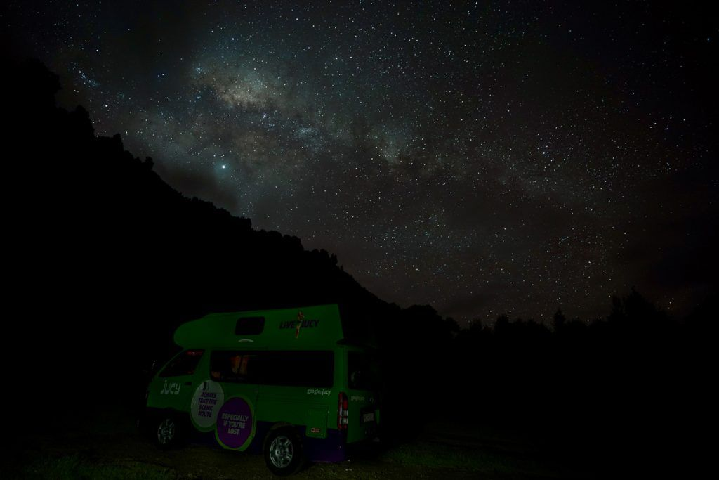 Etapa 2 por NZ entre Hamilton y Taumarunui: Ohinepane Camping Area