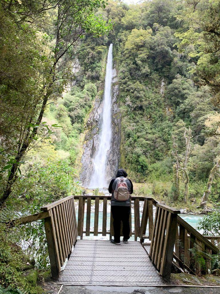 Ruta por Nueva Zelanda: ¡hay cataratas por todas partes!