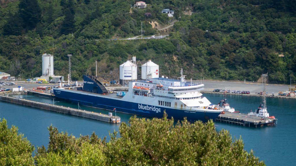 Guía de Nueva Zelanda: Ferry de Picton a Wellington