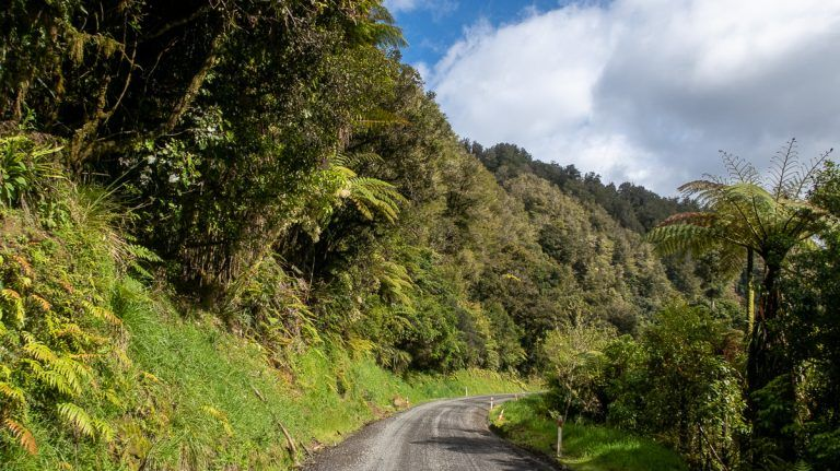 Etapa 3 por NZ entre la Forgotten World Highway y Wellington