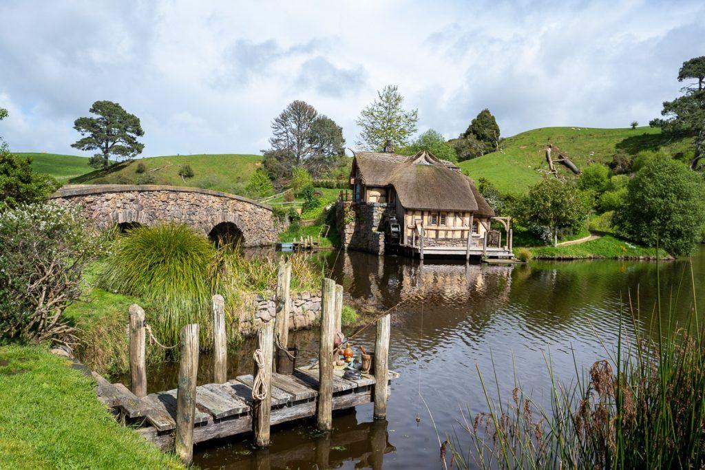 Visitar Hobbiton: una de las zonas más bonitas de la visita