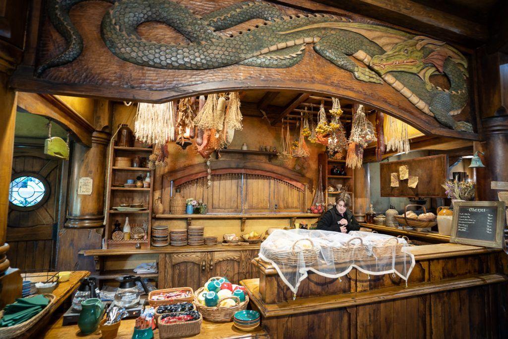 Visitar Hobbitton: taberna del Dragón Verde
