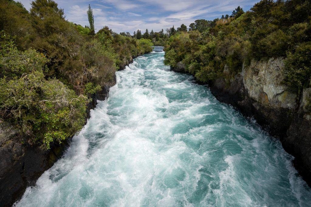Guía de Nueva Zelanda: Huka Falls