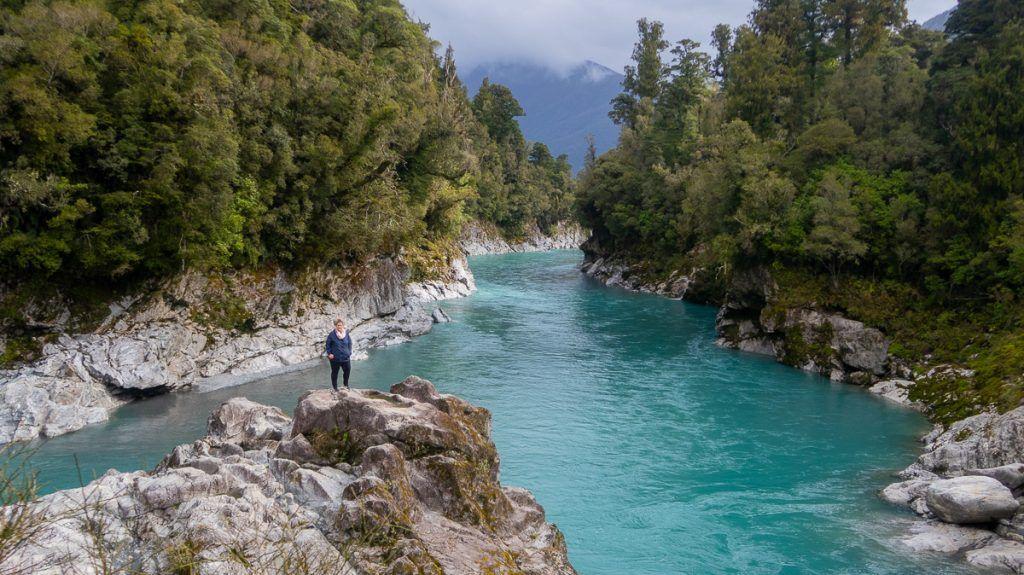 Ruta por Nueva Zelanda: Hokitika Gorge