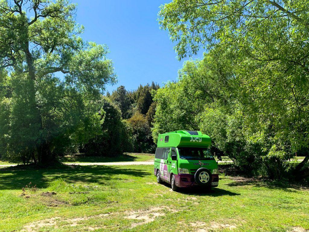 Guía de Nueva Zelanda: Justina, nuestra camper de Jucy