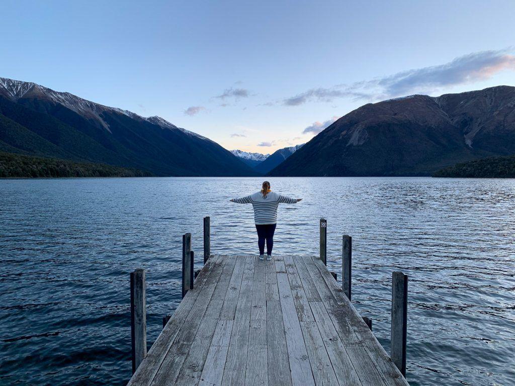 Ruta por Nueva Zelanda: Lago Rotoiti