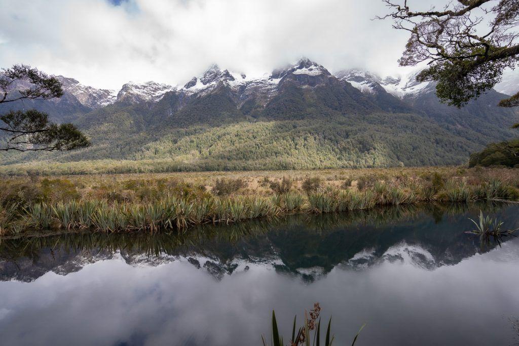 Ruta por Nueva Zelanda: Mirror Lakes