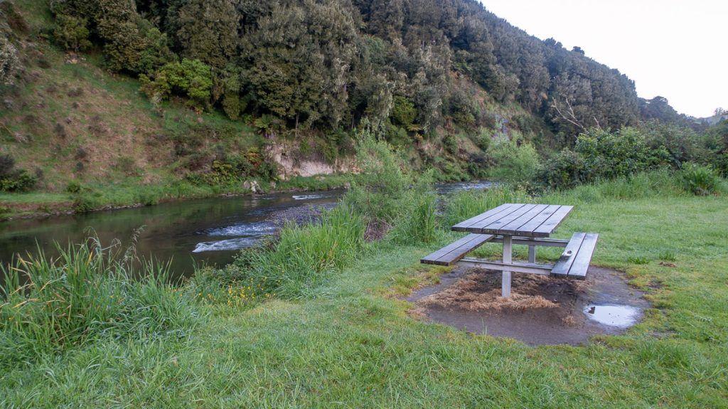 Ruta por Nueva Zelanda: Ohinepane Camping Area