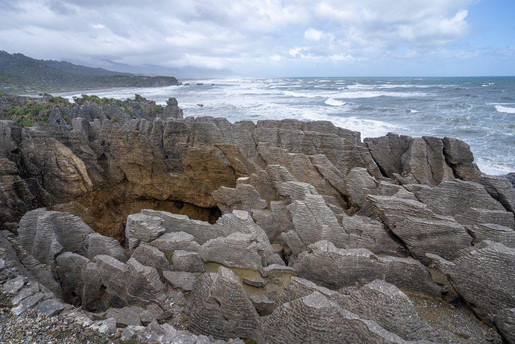 Ruta por Nueva Zelanda: Pancake Rocks