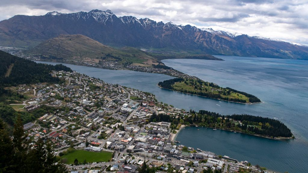 Ruta por Nueva Zelanda: Skyline en Queenstown