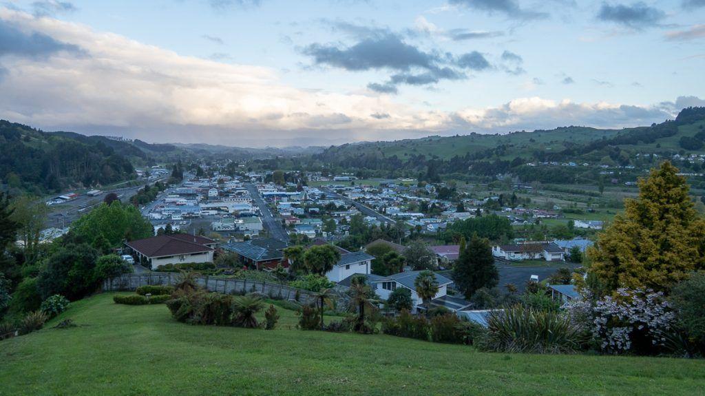 Etapa 2 por NZ entre Hamilton y Taumarunui: Mirador de Taumarunui