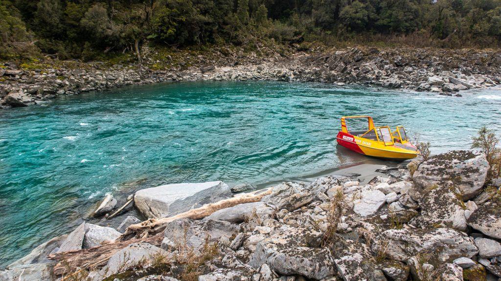 Ruta por Nueva Zelanda: Waitoto River Safari