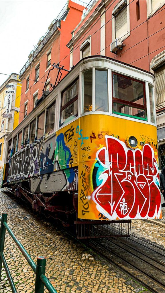 Qué ver en Lisboa: elevador da Gloria