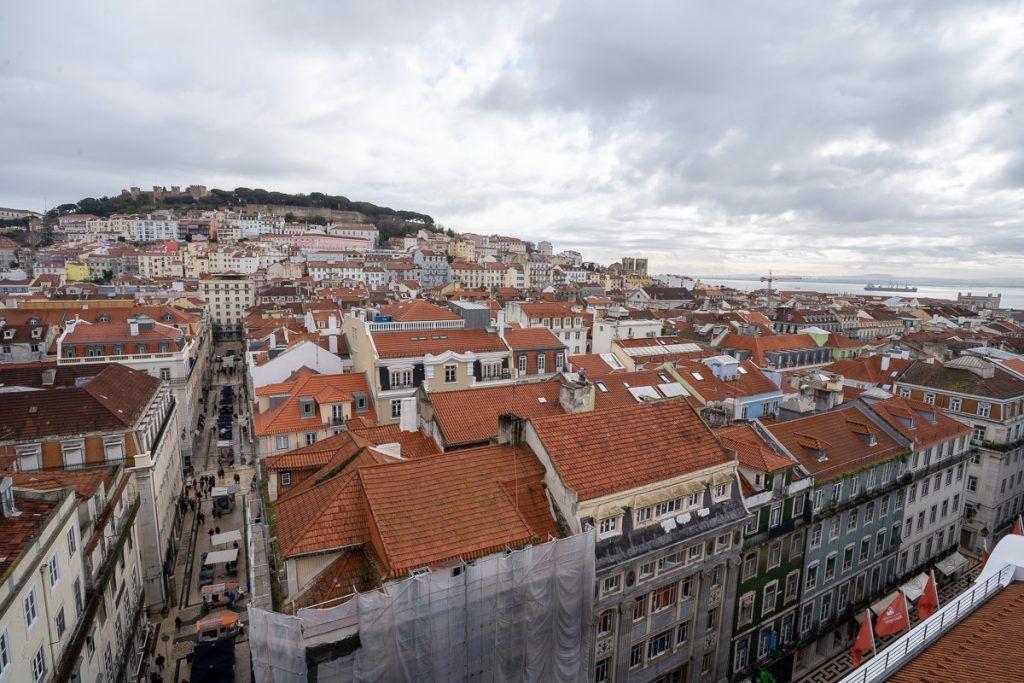 Qué ver en Lisboa: vistas desde el elevador de Santa Justa