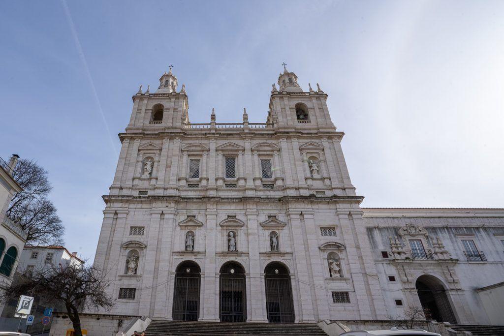 Qué ver en Lisboa: iglesia de San Vicente da Fora