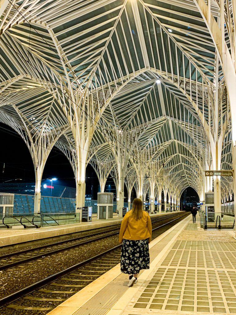 Qué ver en Lisboa: estaçao de Oriente
