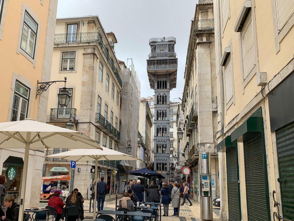 Qué ver en Lisboa: elevador de Santa Justa