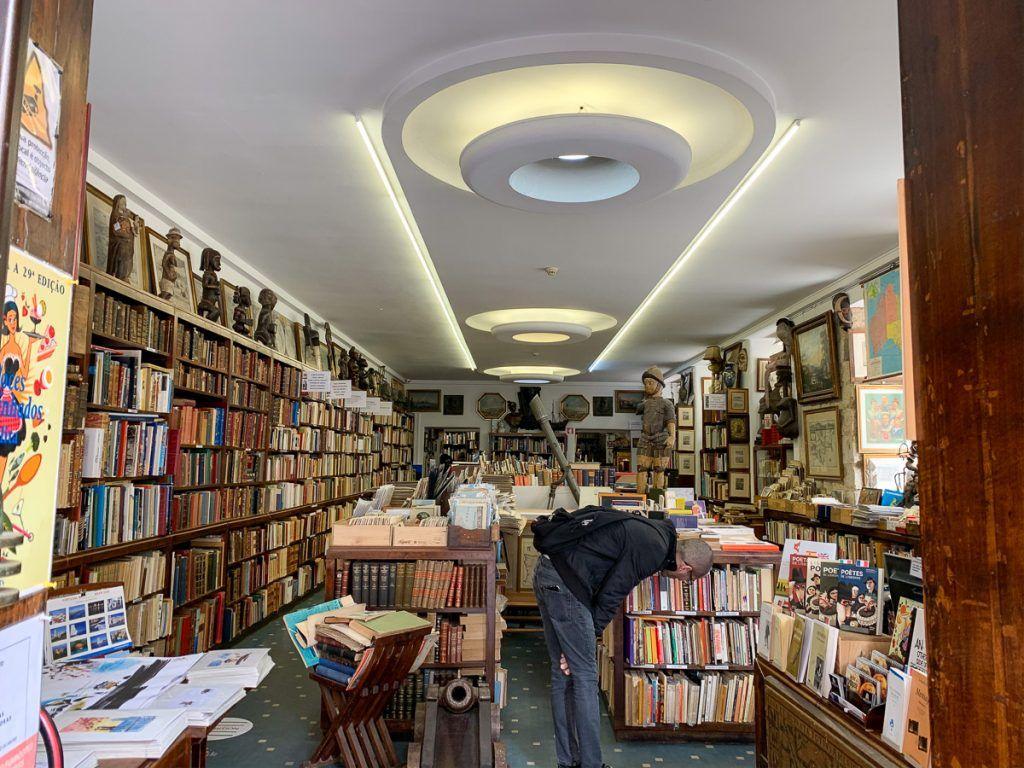 Qué ver en Lisboa: librería Bertrand