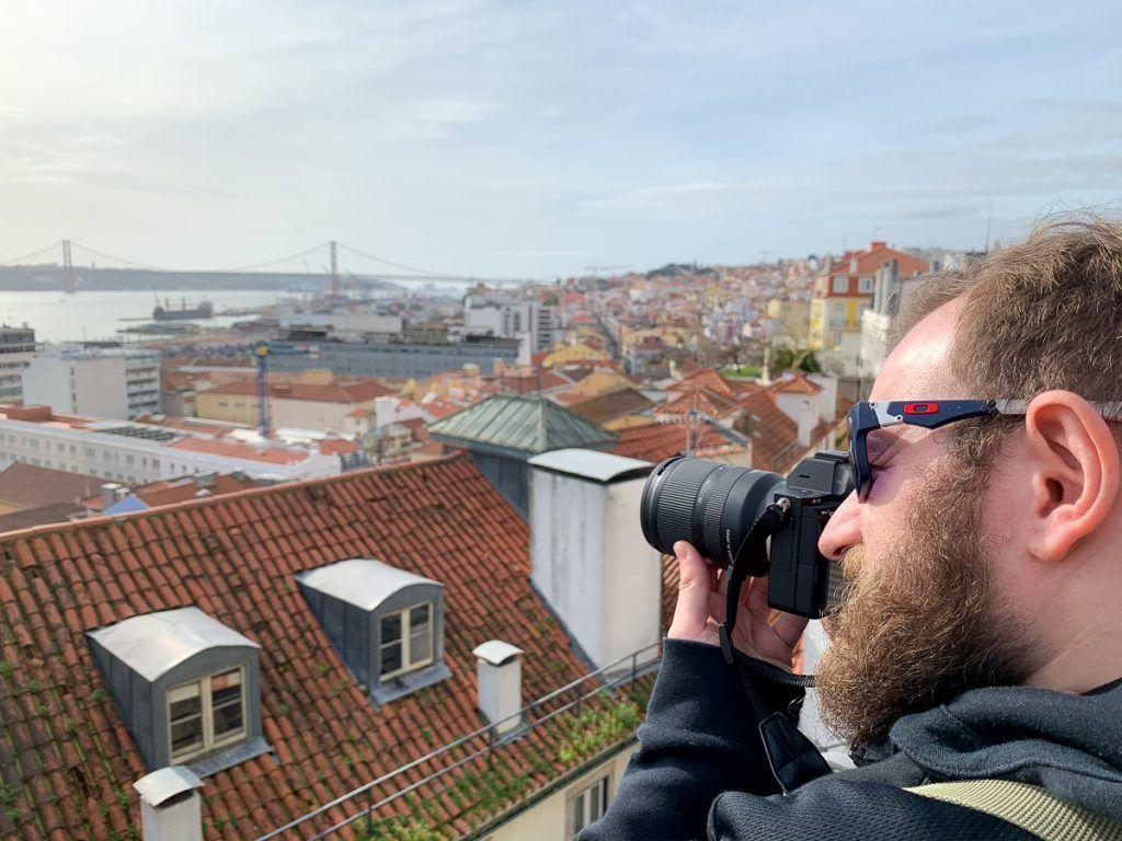Qué ver en Lisboa: mirador de Santa Catarina