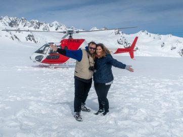 Glaciares de Nueva Zelanda en helicóptero: TODO lo que debes saber