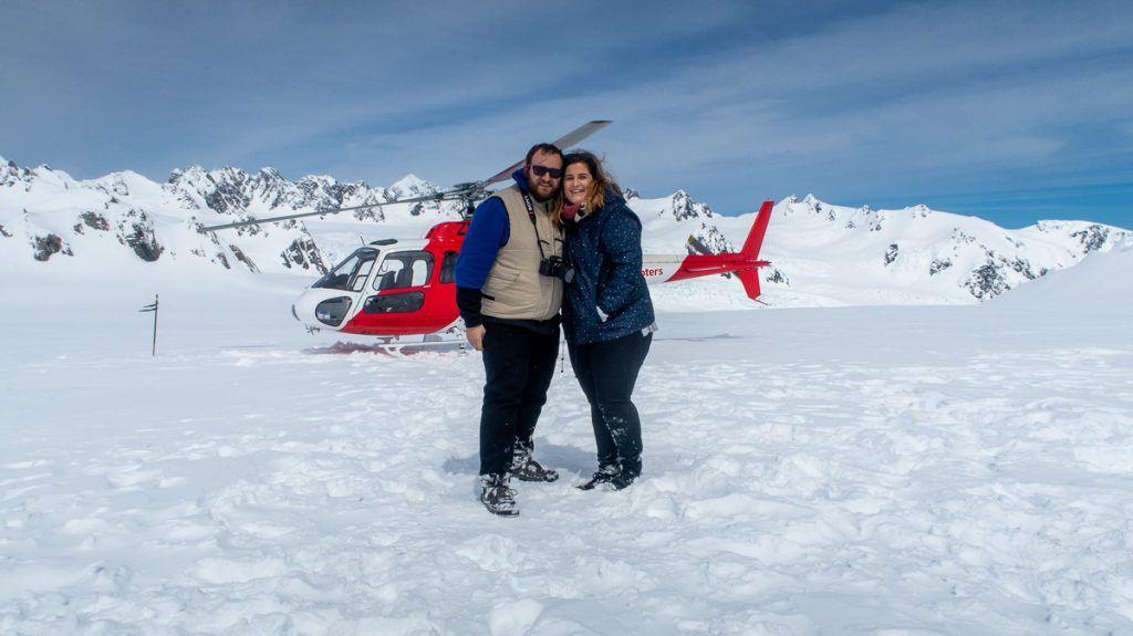 Glaciares de Nueva Zelanda en helicóptero: en lo alto del Franz Josef Glacier