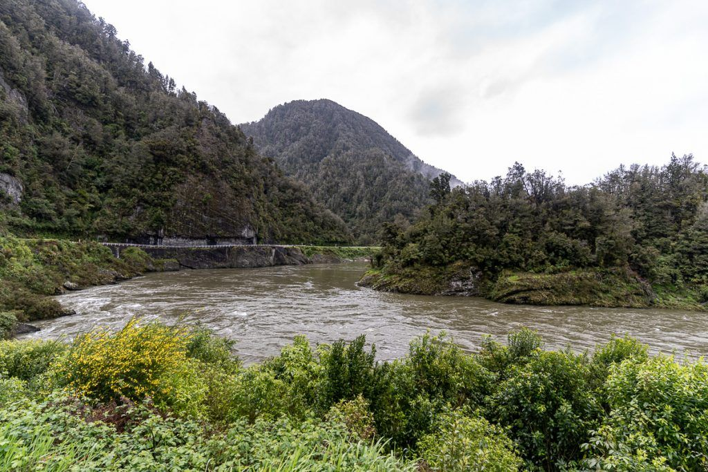 Etapa 5 por NZ recorriendo la West Coast: Buller Gorge