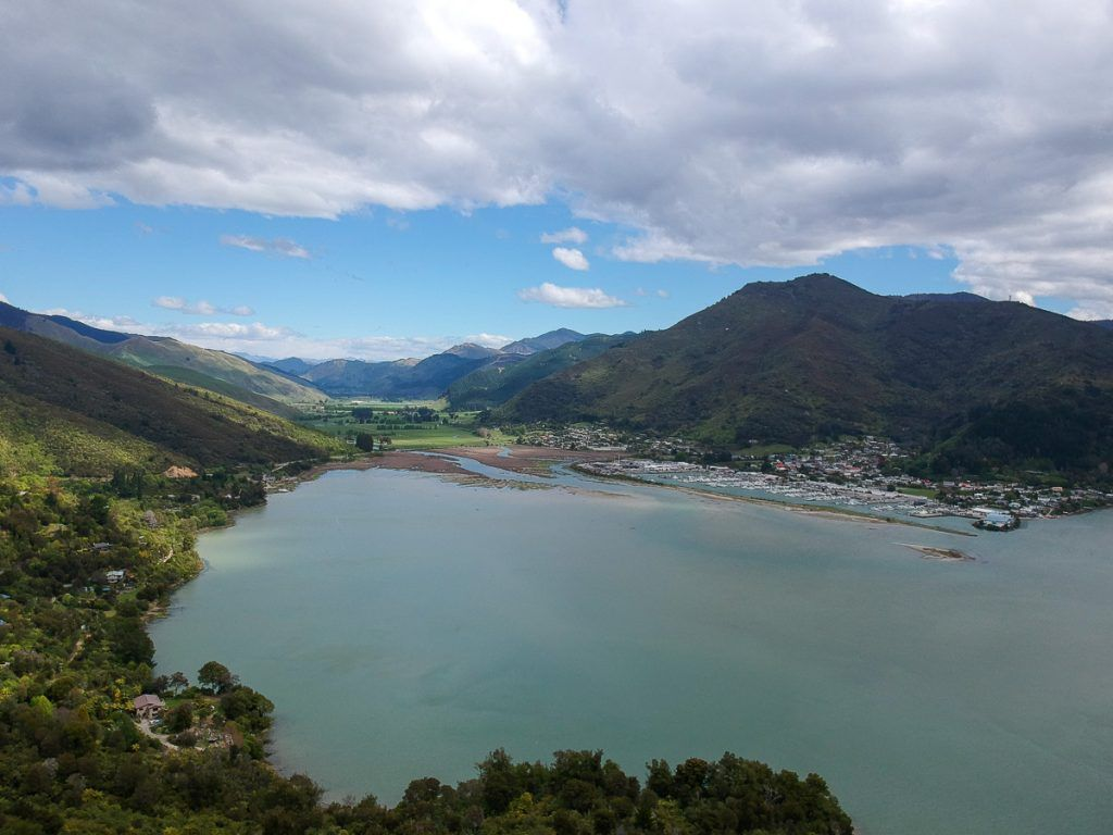 Etapa 4 por NZ entre Wellington y Nelson Lakes: Cullen Point