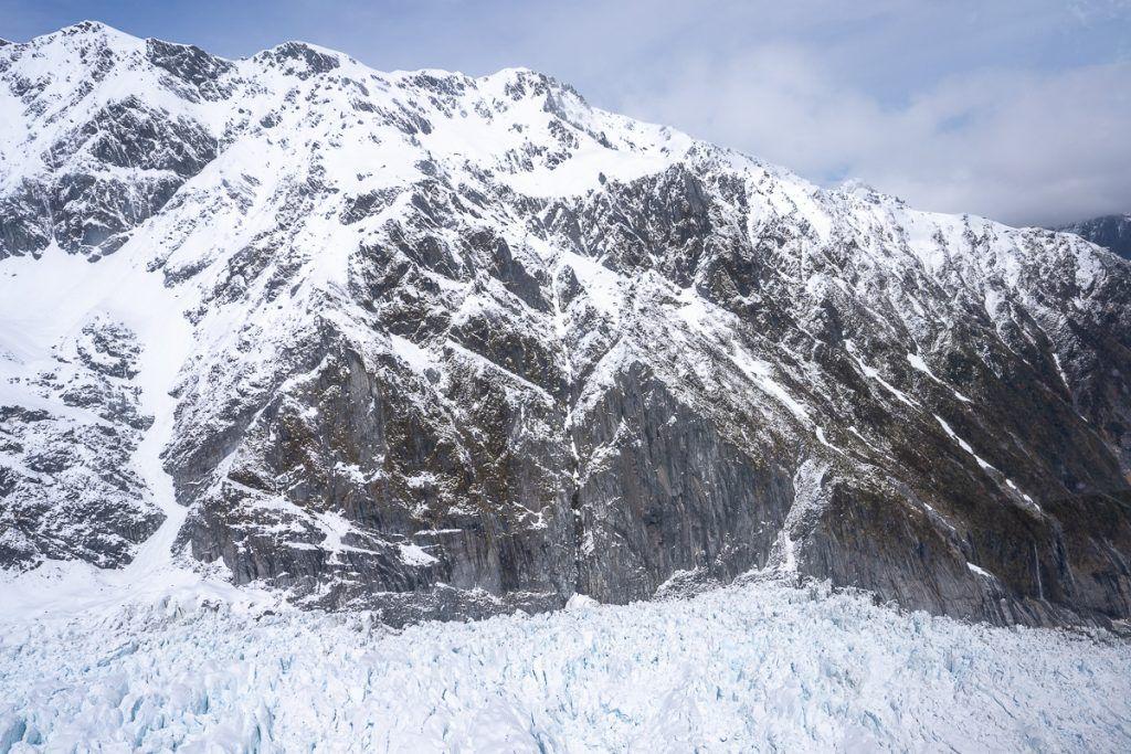 Glaciares de Nueva Zelanda en helicóptero: Fox Glacier