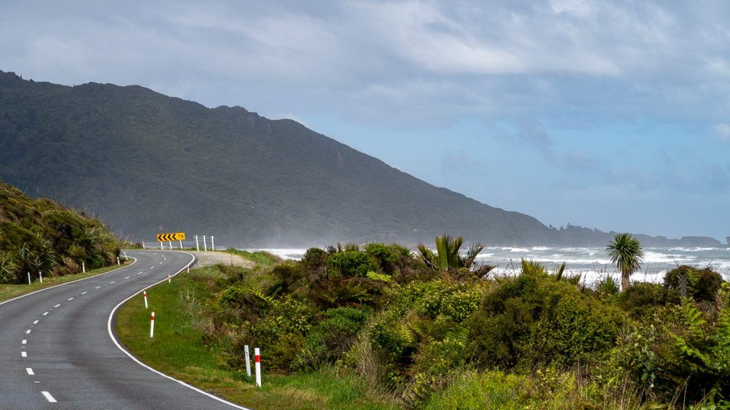 Etapa 5 por NZ recorriendo la West Coast: Great Coast Road
