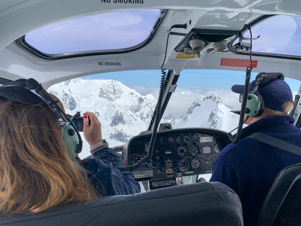 Glaciares de Nueva Zelanda en helicóptero: Franz Josef Glacier