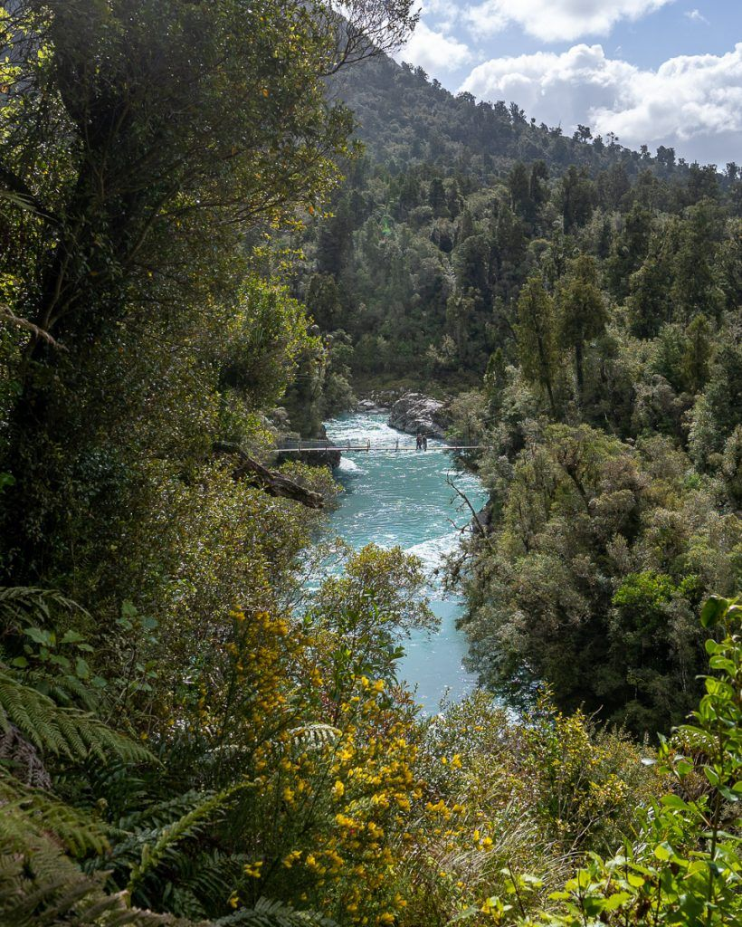 Etapa 5 por NZ recorriendo la West Coast: Hokitika Gorge