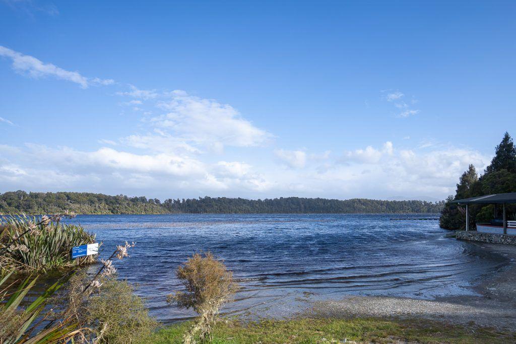 Etapa 5 por NZ recorriendo la West Coast: Lago Mahinapua