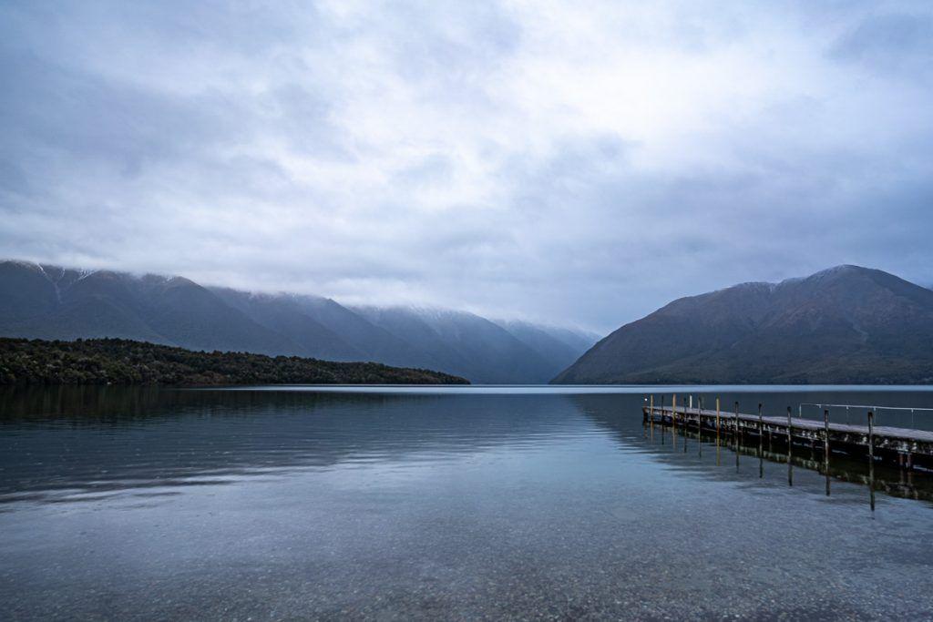 Etapa 5 por NZ recorriendo la West Coast: Empezamos la ruta en el lago Rotoiti