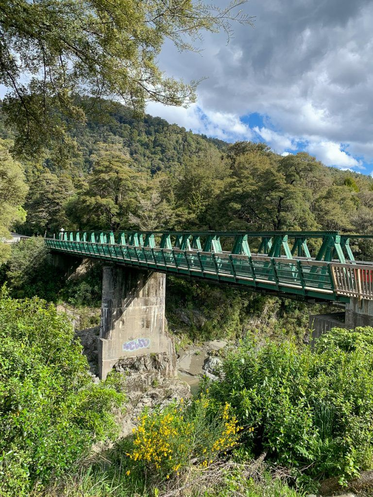 Etapa 4 por NZ entre Wellington y Nelson Lakes: Pelorus Bridge