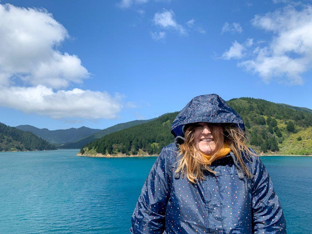 Etapa 4 por NZ entre Wellington y Nelson Lakes: Ferry a la isla sur