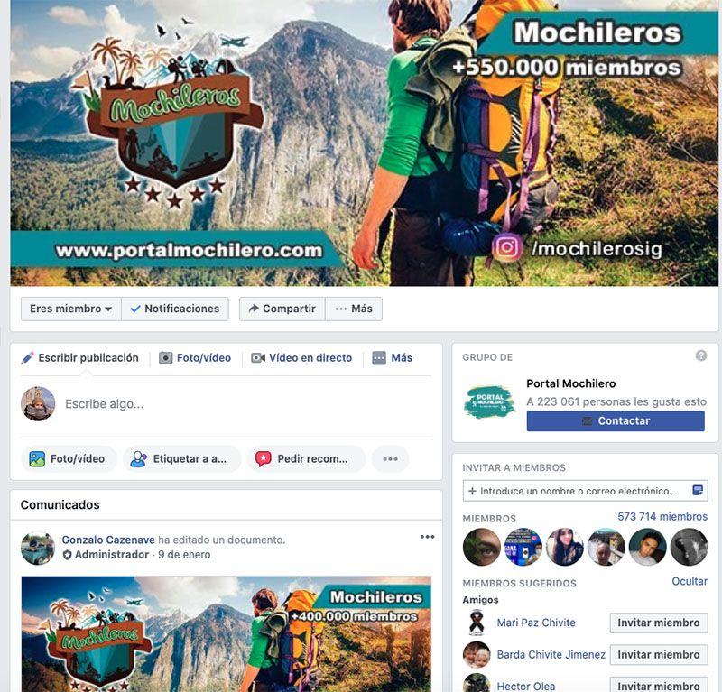 Cómo crear un blog de viajes y vivir de él: Utiliza los grupos de Facebook