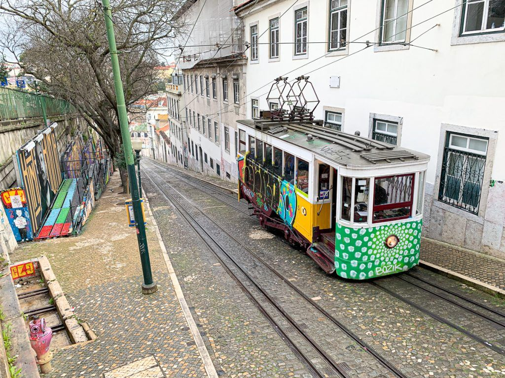 Transporte en Lisboa: Ascensor da Gloria
