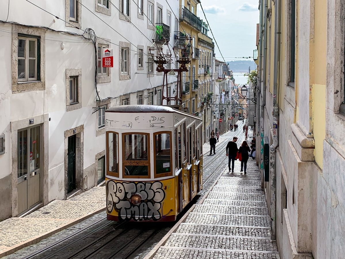 Transporte en Lisboa: Ascensor da Bica