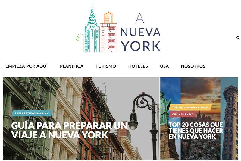 Los mejores blogs de viajes: A Nueva York