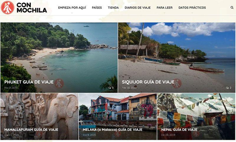 Los mejores blogs de viajes: Con Mochila