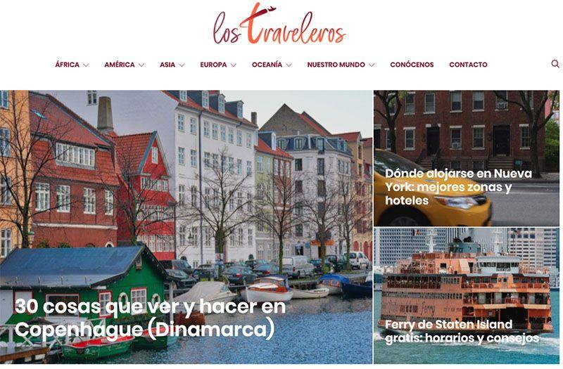 Los mejores blogs de viajes: Los Traveleros