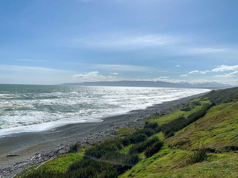 Etapa 10 por NZ desde Milford Sound a Slope Point: carretera a Colac Bay