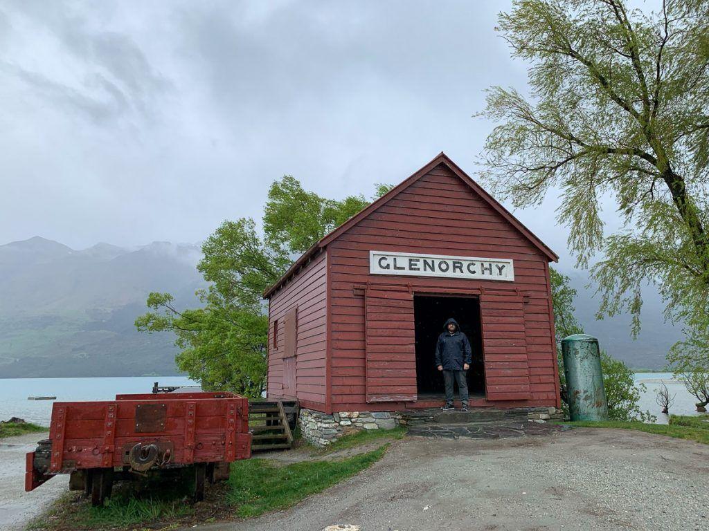 Etapa 8 por NZ desde Wanaka a Glenorchy: el famoso granero de Glenorchy