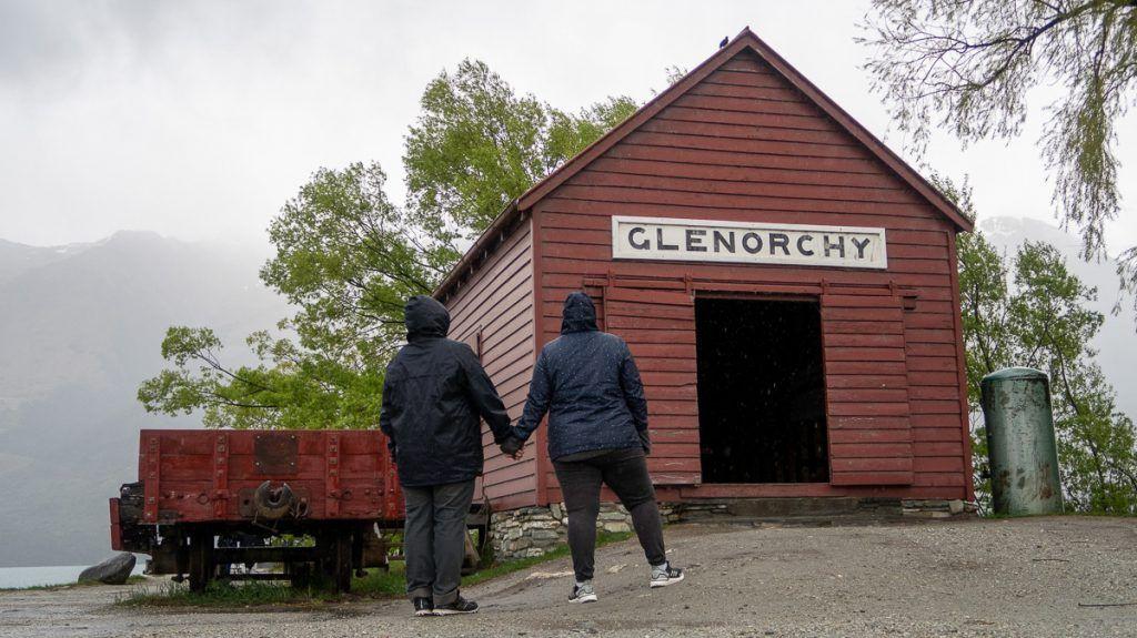 Qué hacer en Queenstown: escaparte a ver el granero de Glenorchy