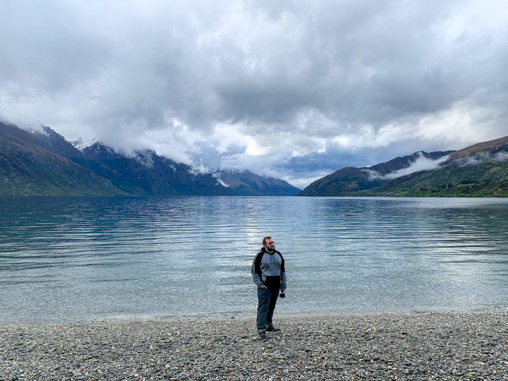 Etapa 8 por NZ desde Wanaka a Glenorchy: Lago Wakatipu