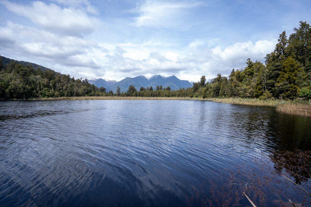 Etapa 6 por NZ desde Franz Josef Glacier a Haast: Lake Matheson