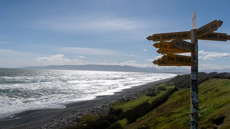 Etapa 10 por NZ desde Milford Sound a Slope Point: McCrackens Rest